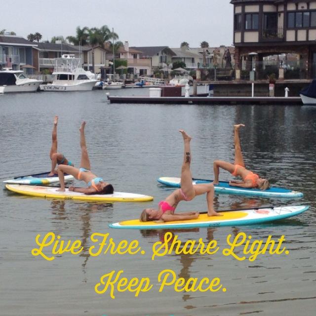 puresup yoga backbend with leg